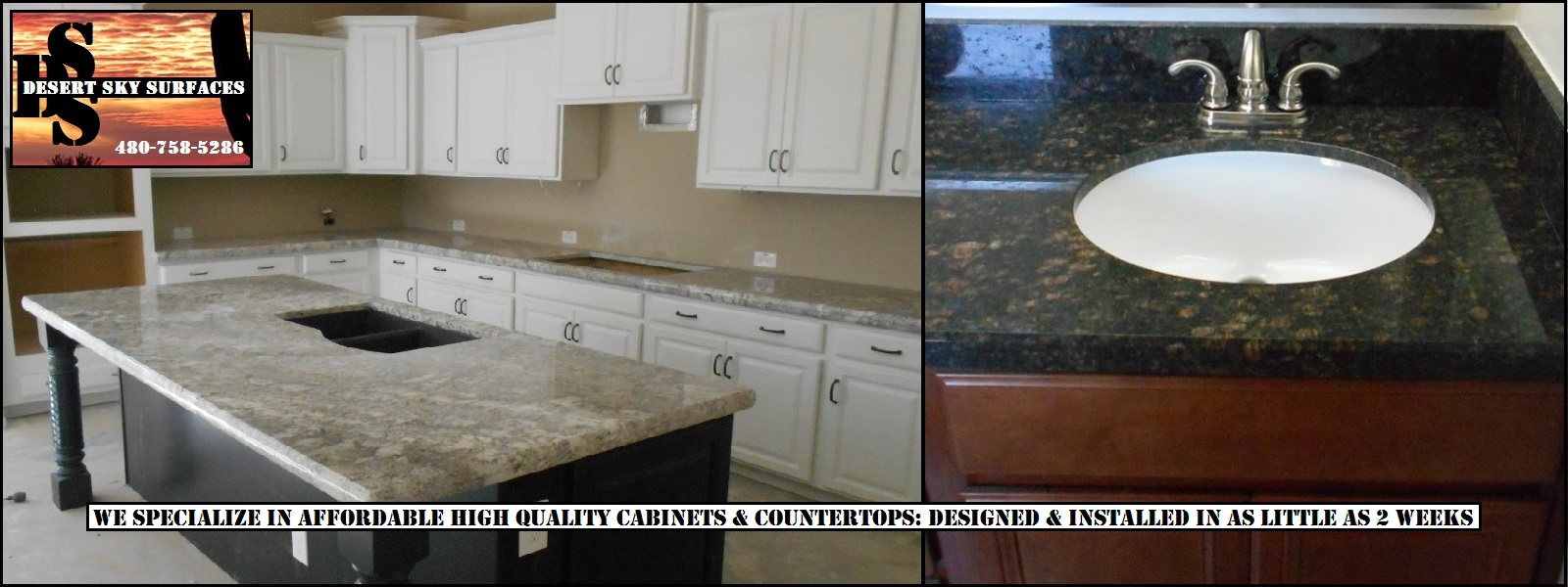From The Kitchen To The Bath, We Design And Install Affordable Quality  Cabinets U0026 Countertops Valley Wide