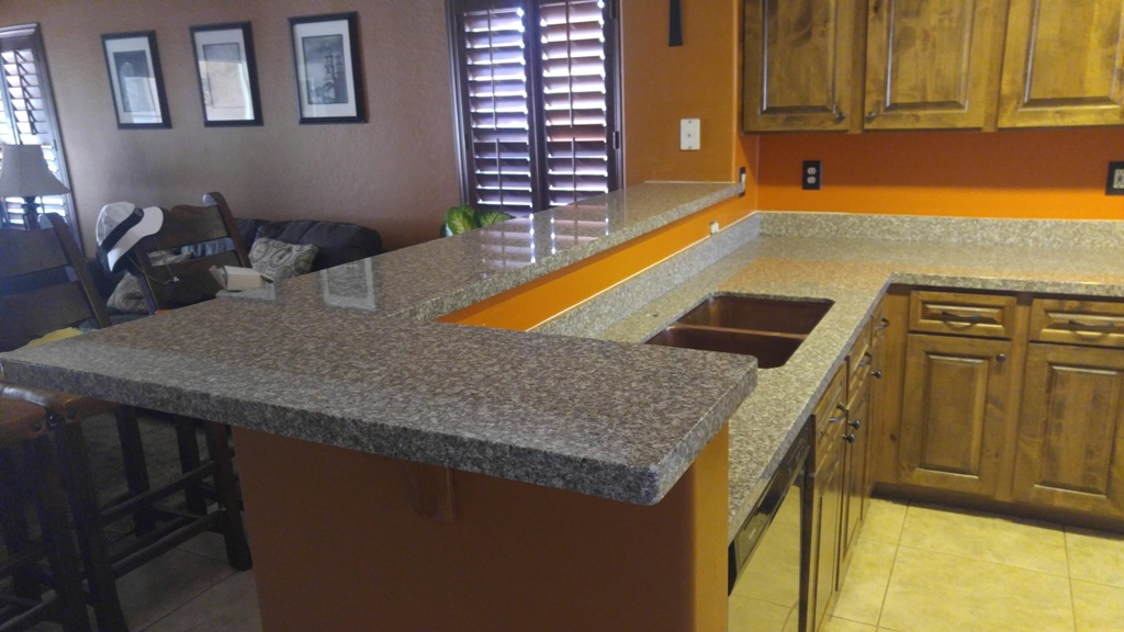 Bainbrook Brown Granite Kitchen Copuntertops Chandler Az