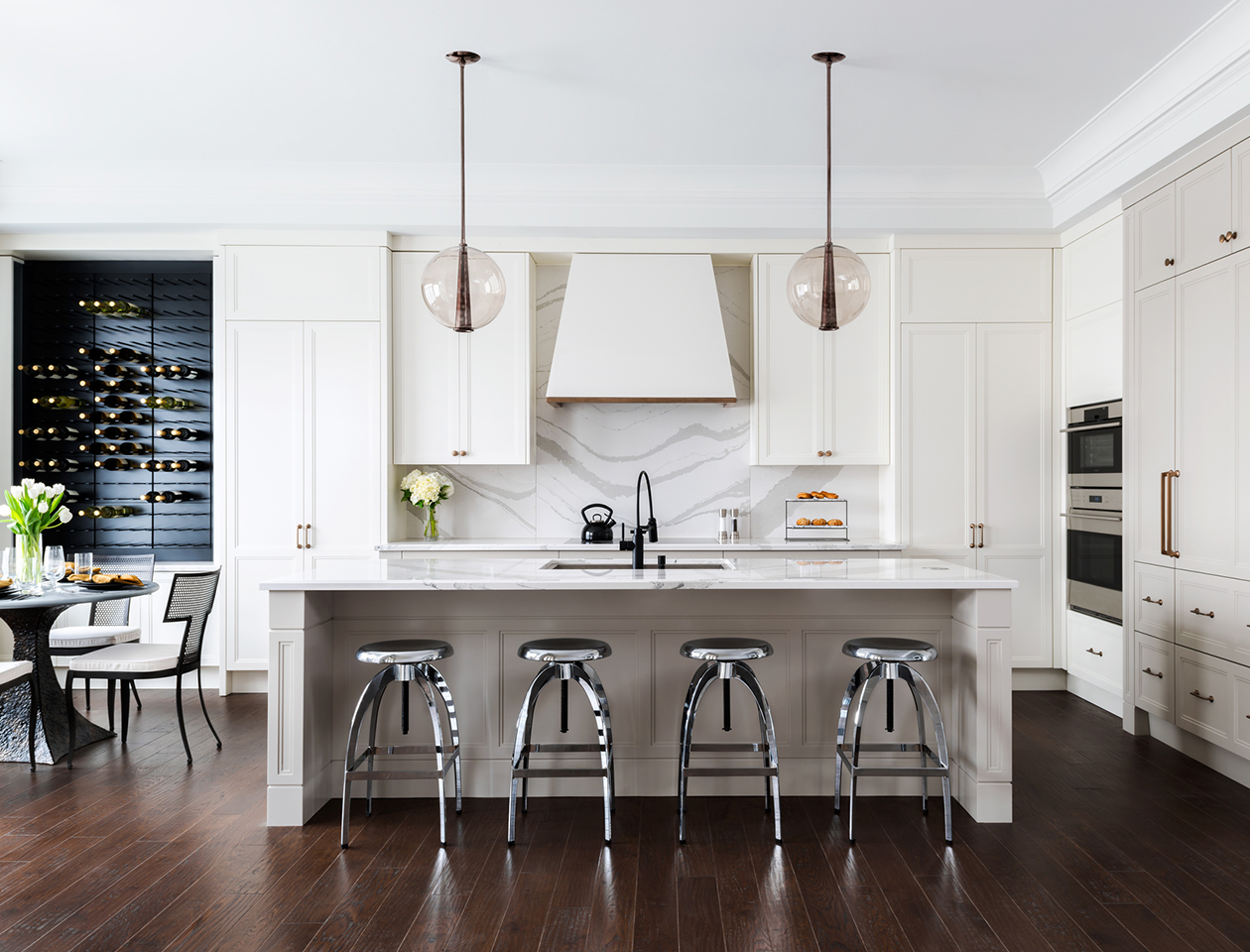 Green Counter Height Stools