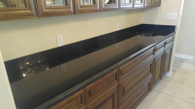 Countertop D Edge : Chandler Granite Countertop Fabricator Indian Premium Black Matching ...