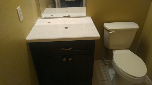 Room Vanity Countertops : Bathroom remodel quartz countertops chandler az