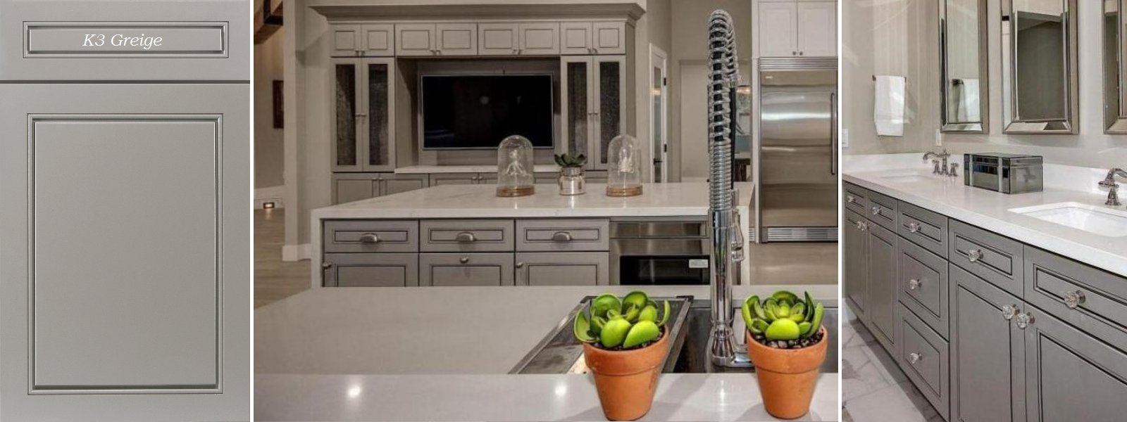 Deeply discounted caesarstone linen quartz countertops in for Perfect kitchen fabrication