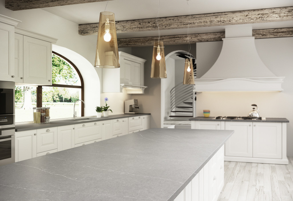 Desert Sky Surfaces Is An Authorized Dealer For Silestone. This Kitchen  Features Silestoneu0027s Serena Quartz Countertops. This Is The Perfect Choice  For This ...