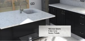 Silestone Is One Our Preferred Partners And This Rendering Pairs Silestoneu0027s  Lyra Quartz Countertop ...