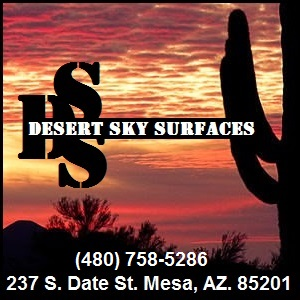 Desert Sky Surfaces logo