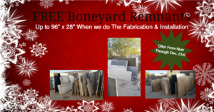 "Free Boneyard Remnants up to 96""x28"""